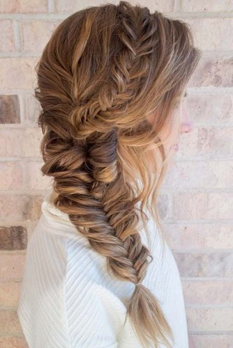 Fishtail Braid Hairstyles picture 2
