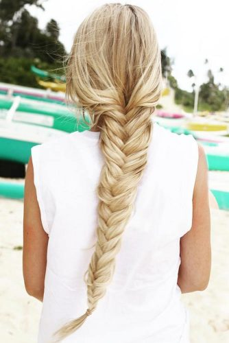 Fishtail Braid Hairstyles picture 6
