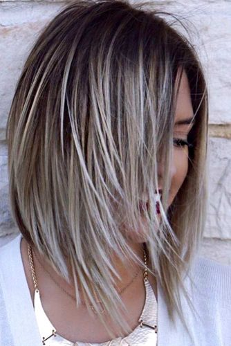 Cute Layered Long Bob picture 4