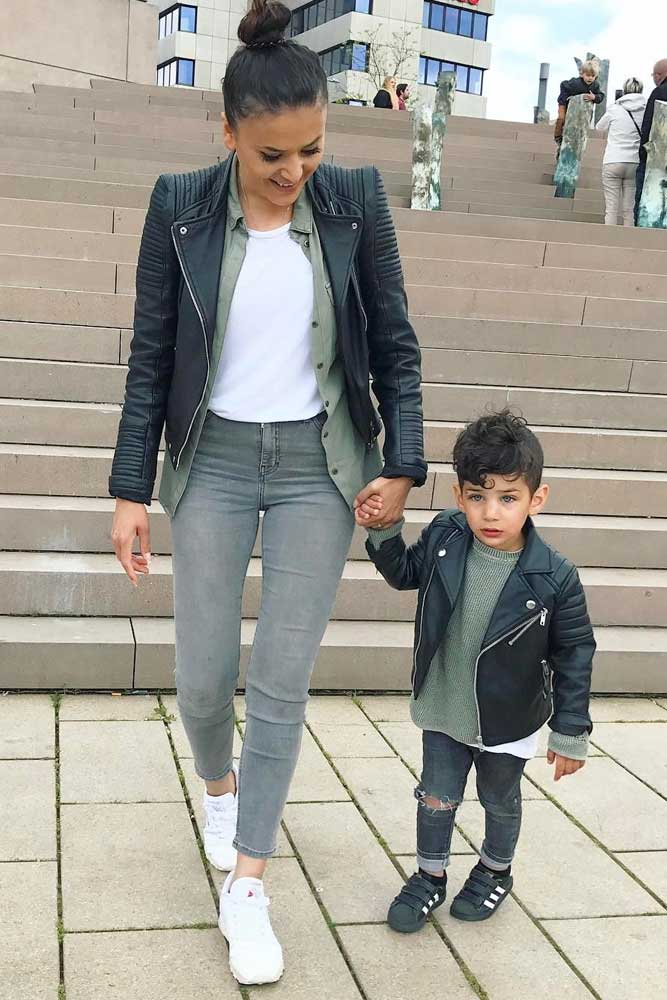 Mother and Son Outfits picture 1