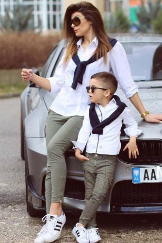 Mother and Son Outfits picture 2