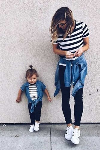 Mother and Daughter Matching Outfit Ideas picture 1