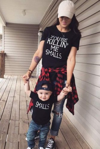 Mother and Son Outfits picture 5