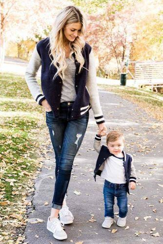 Jeans And Momers Mommy And Son Outfits #mommyandson