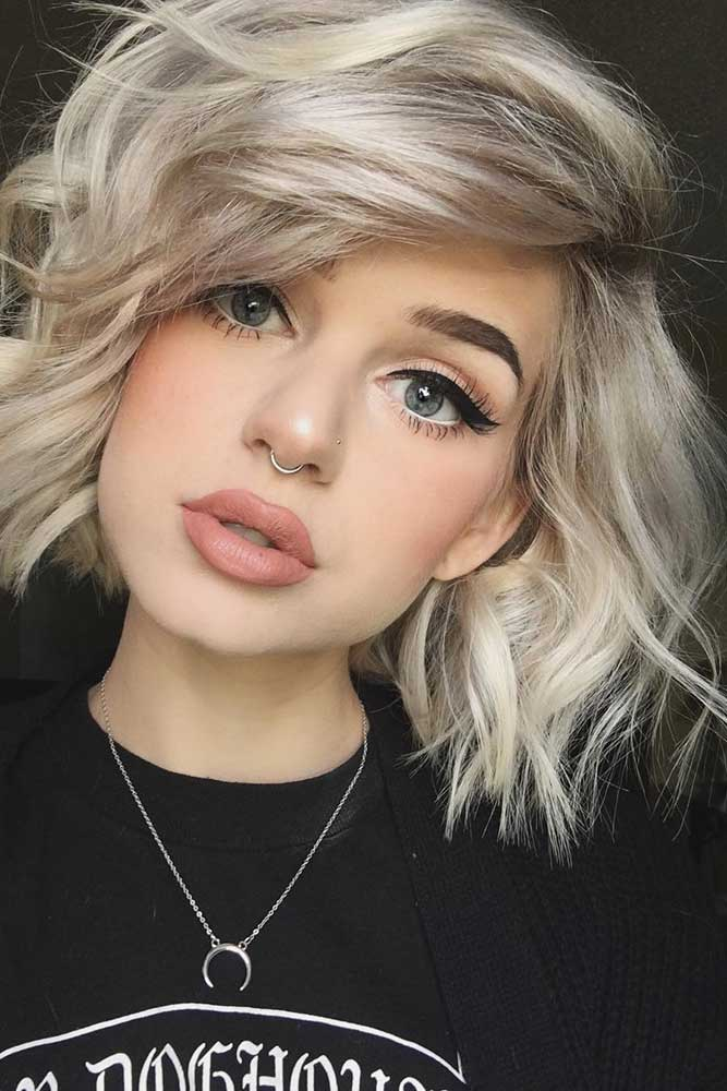 Wavy Bob Hair for Blonde picture 1