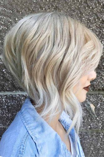 Wavy Bob Hair for Blonde picture 2