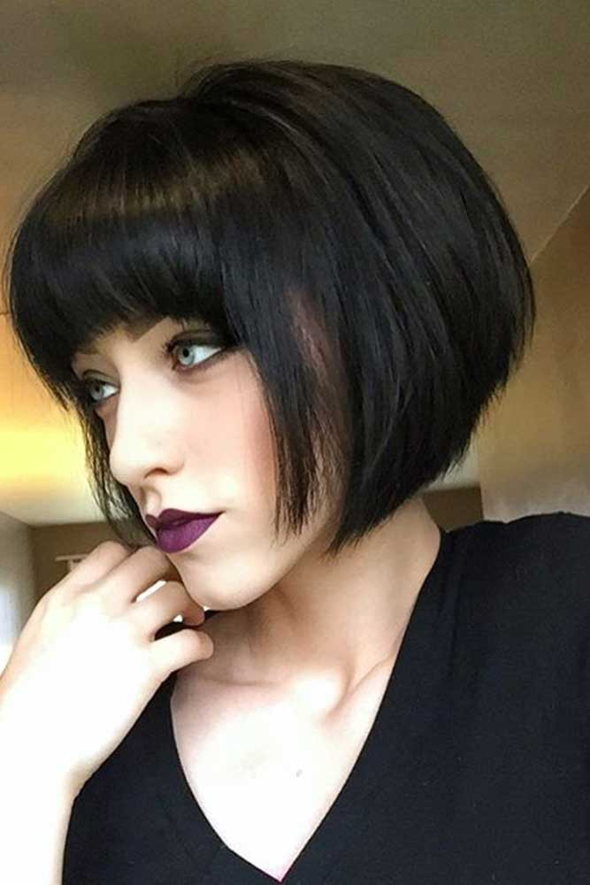 Cute Short Haircuts With Bang picture 3