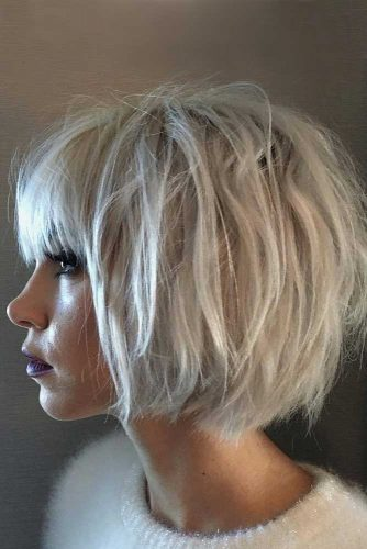 Cute Short Haircuts With Bang picture 5