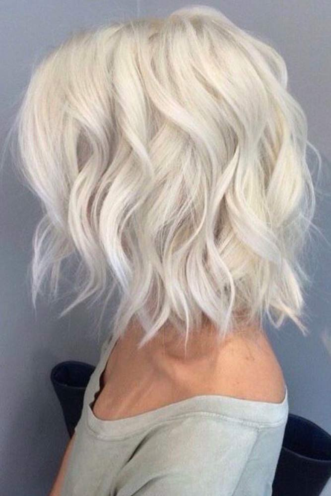 Wavy Bob Hair for Blonde picture 3