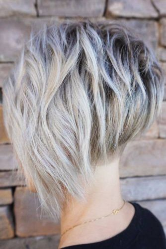 Layered Pixie Cut Ideas #pixie #wavyhair