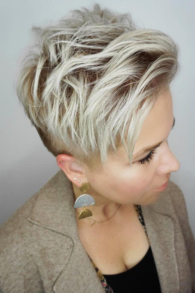 The Best Short Shaggy Haircuts #shorthair #pixie