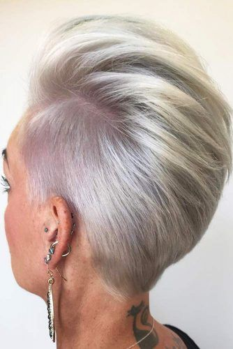 Pixie Side Cut Ideas #pixie #shorthair
