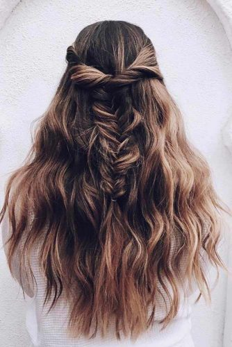 Easy Braided Hairstyles for Long Hair picture 1