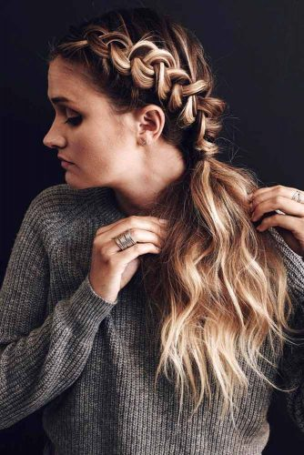 Easy Braided Hairstyles for Long Hair picture 2