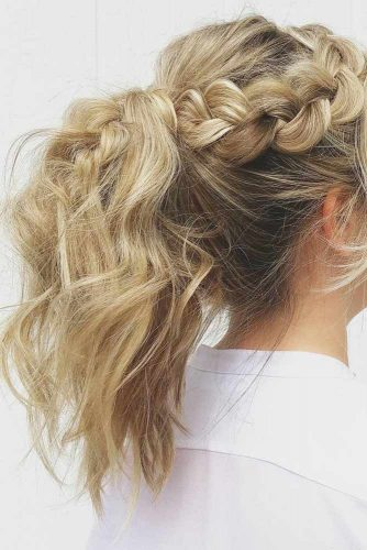 Ponytail Ideas for Easy Braided Hairstyles picture 2
