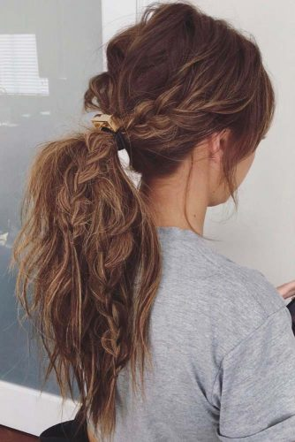 Ponytail Ideas for Easy Braided Hairstyles picture 3