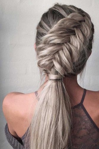 Ponytail Ideas for Easy Braided Hairstyles picture 5