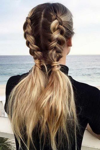 Ponytail Ideas for Easy Braided Hairstyles picture 6