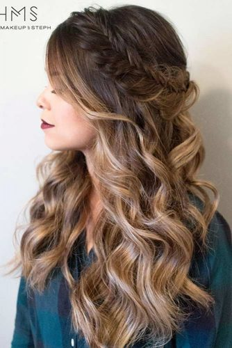 Easy Braided Hairstyles for Long Hair picture 4