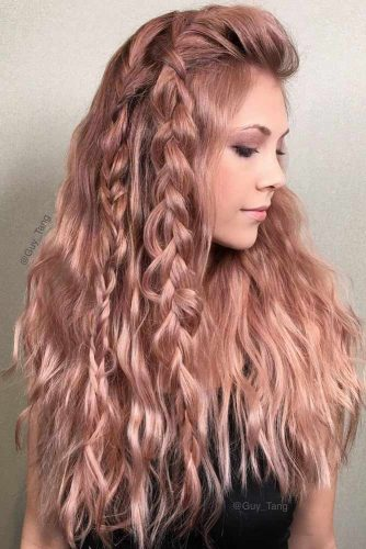 Easy Braided Hairstyles for Long Hair picture 5