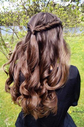 Easy Braided Hairstyles for Long Hair picture 3