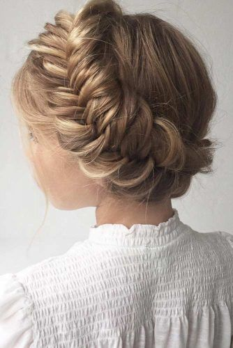 Crown Braid Hairstyle #crownbraid