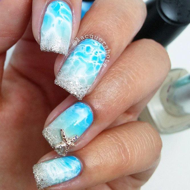 Stunning Starfish Nails