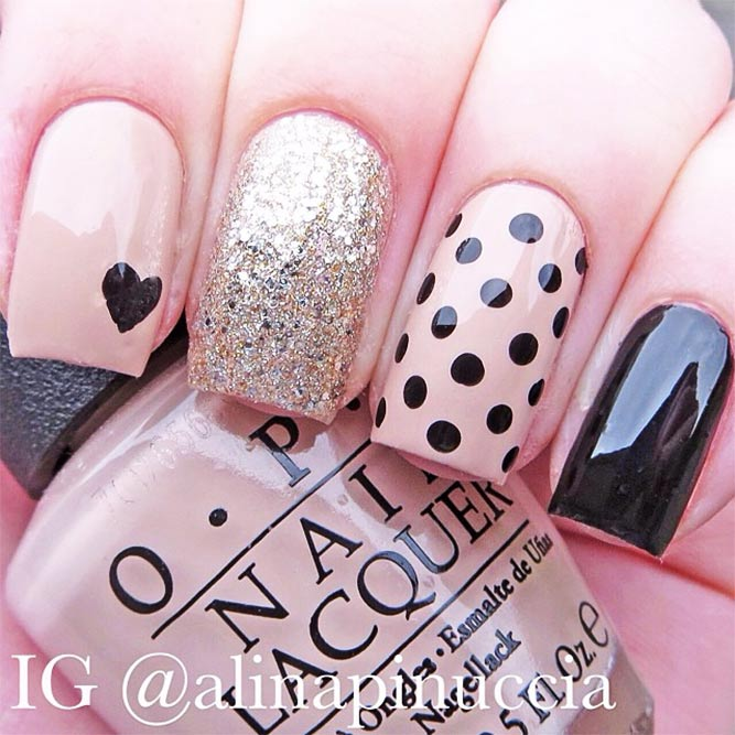 Summery Polka Dot Design