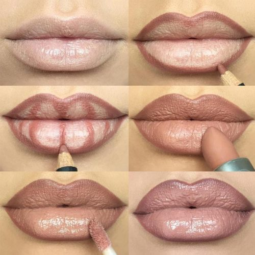 Lips Makeup Ideas Step by Step picture 1
