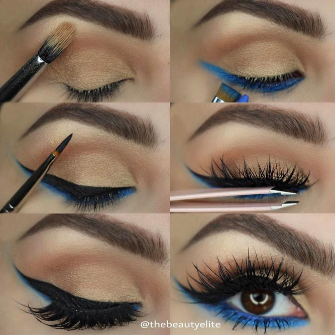Double Eyeliner Makeup Tutorial #eyelinertutorial