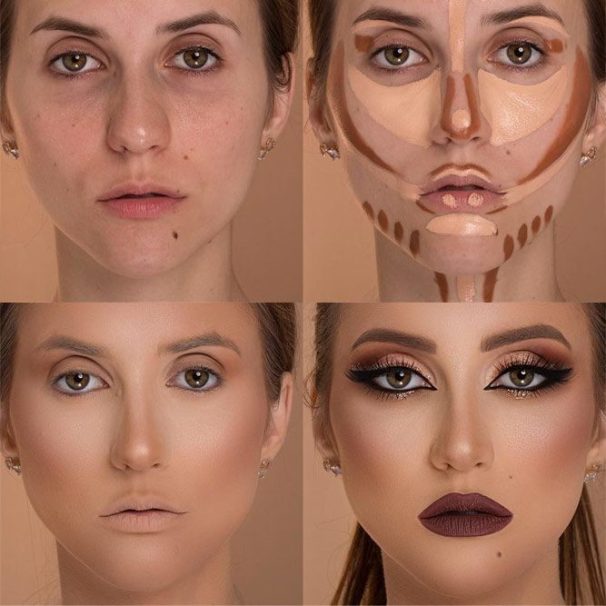 Face Contour Tutorial #contourmakeup