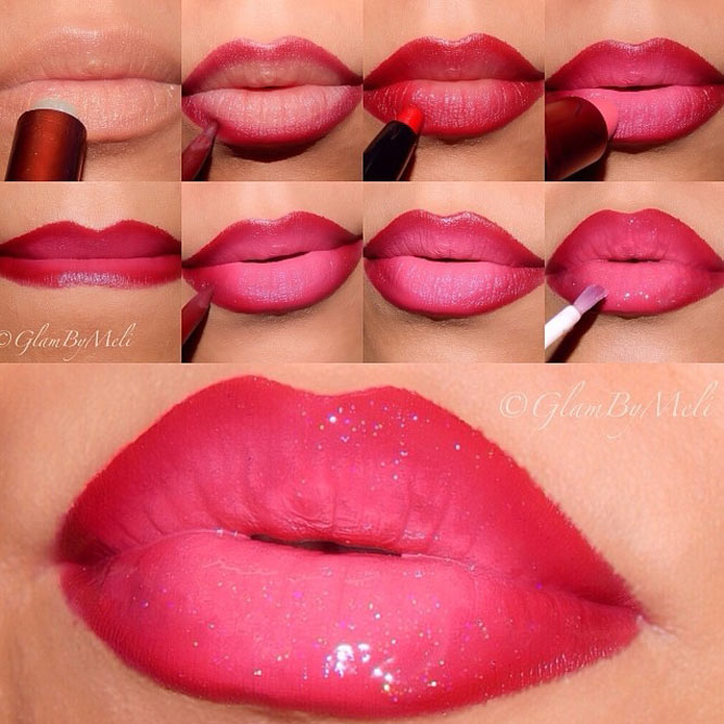 Lips Makeup Ideas Step by Step picture 5