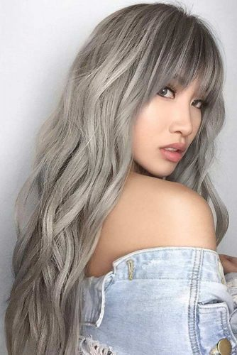 Fabulous Long Hair Hairstyles With Bang picture 1