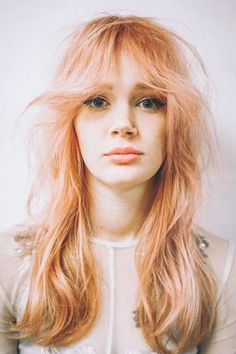 Fabulous Long Hair Hairstyles With Bang picture 3