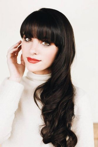 Fabulous Long Hair Hairstyles With Bang picture 5