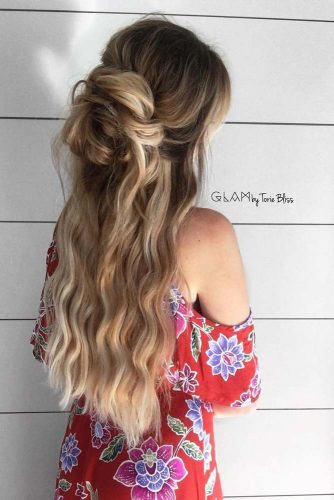 Gorgeous Wavy Long Hair Hairstyles picture 3