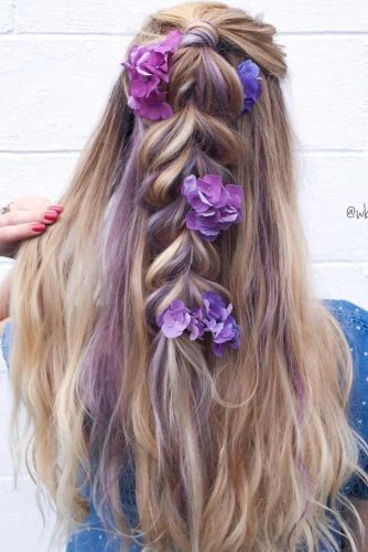 Gentle and Romantic Hairstyles picture 5