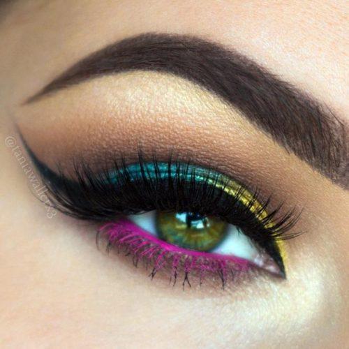 Chic Dark Green Eyes picture 4