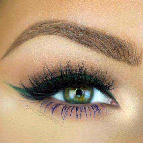 Chic Dark Green Eyes picture 6