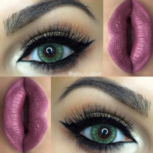 Sexy Makeup For Dark Green Eyes picture3