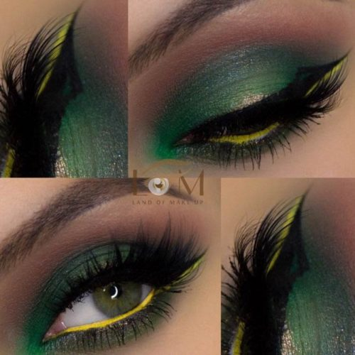 Sexy Makeup For Dark Green Eyes picture6