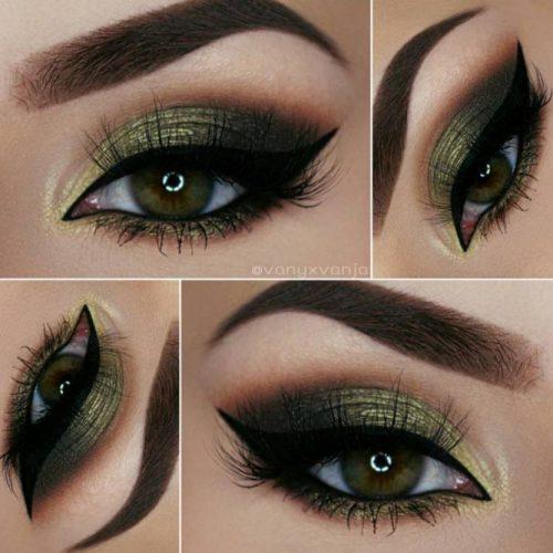 Beautiful Dark Green Eyes picture6