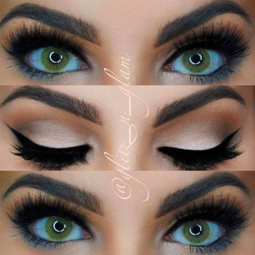 Perfect Ideas For Dark Green Eyes picture 5