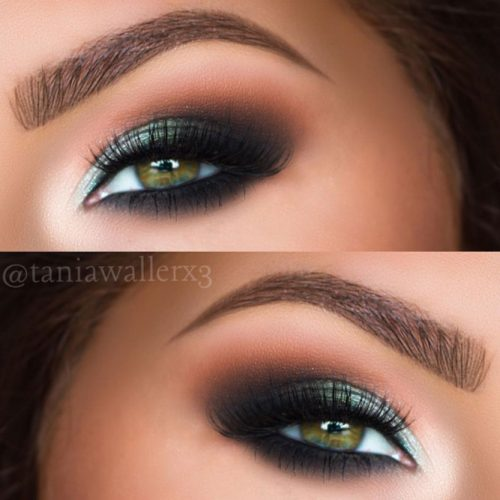 Incredible Dark Green Eyes picture 3