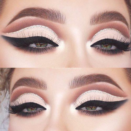 Cut Crease Makeup For Dark Green Eyes #cutcrease