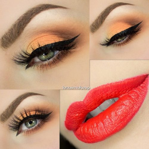 Sexy Makeup For Dark Green Eyes picture2