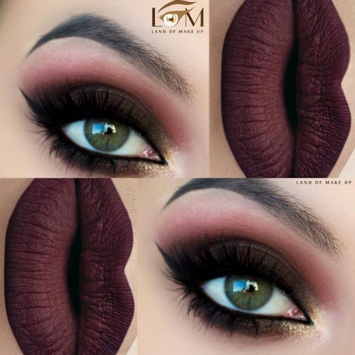 Sexy Makeup For Dark Green Eyes picture1