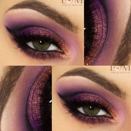 Sexy Makeup For Dark Green Eyes picture5