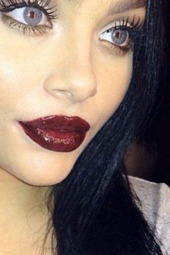 Trendy Maroon Lipstick picture4