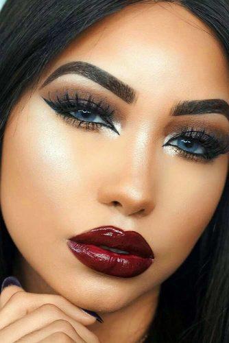 Trendy Maroon Lipstick picture5